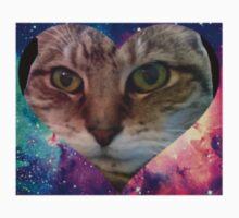 Funny Galaxy Cat  Kids Tee