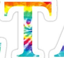 Zeta Tau Alpha - Tie Dye Sticker