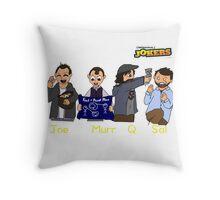 Cartoon Impractical Jokers Throw Pillow