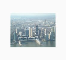 Aerial View, Jersey City Skyline, One World Observatory, World Trade Center Observation Deck, Jersey City, New Jersey Unisex T-Shirt