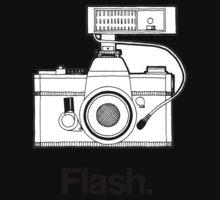 Camera Flash One Piece - Long Sleeve