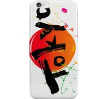 Tokyo of character iPhone Case/Skin
