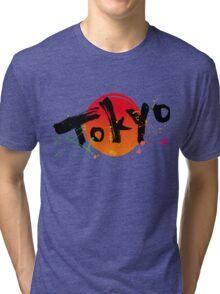 Tokyo of character Tri-blend T-Shirt