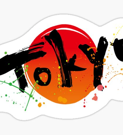 Tokyo of character Sticker