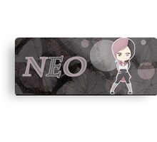 Chibi Neo Metal Print