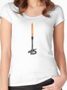 Bunsen Burner Women's Fitted Scoop T-Shirt
