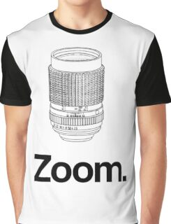Zoom lens Graphic T-Shirt