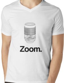 Zoom lens Mens V-Neck T-Shirt