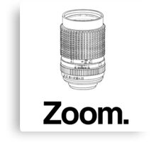 Zoom lens Canvas Print