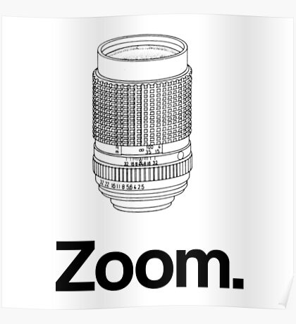 Zoom lens Poster