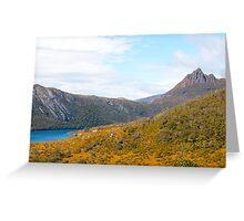 Cradle Mountain Tasmania Australia Greeting Card