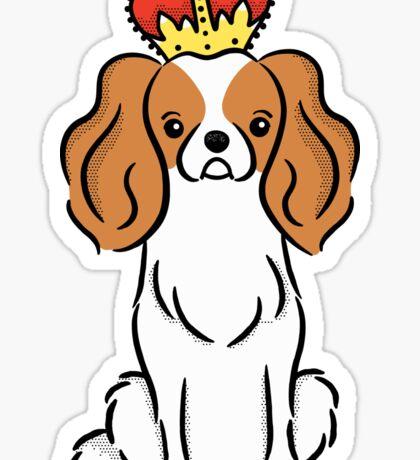 Cavalier King Charles Spaniel Puppy Dog  Sticker