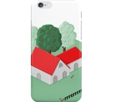 Country house iPhone Case/Skin