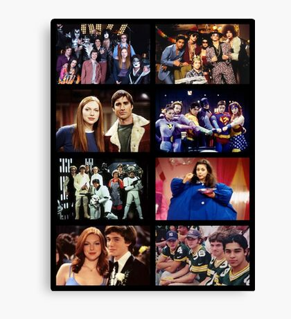 That '70s Show Character Photos Canvas Print