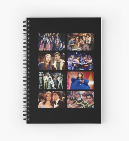 That '70s Show Character Photos Spiral Notebook