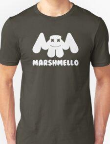 Marshmello   Logo   White   With Text Unisex T-Shirt