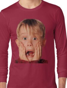 Macauly Culkin From Home Alone Long Sleeve T-Shirt