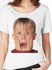 Macauly Culkin From Home Alone Women's Relaxed Fit T-Shirt