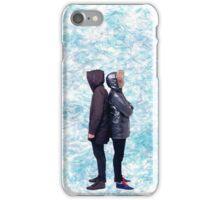 Dan & Phil   Blue petals iPhone Case/Skin