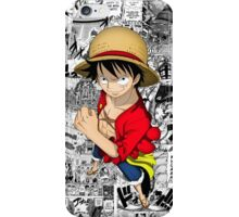 One Piece Luffy Collage iPhone Case/Skin