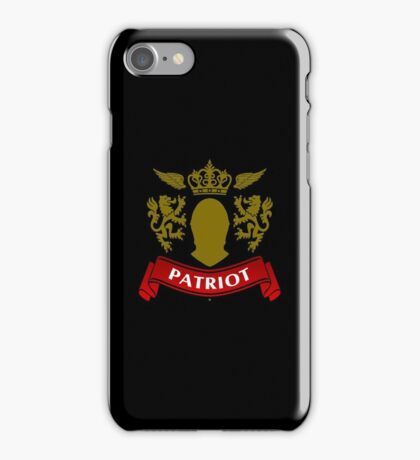 Knight Patriot iPhone Case/Skin