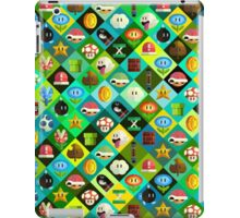 Mario Collage iPad Case/Skin