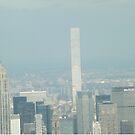 Aerial View, Midtown Manhattan, Empire State Building, 432 Park Avenue, One World Observatory, World Trade Center Observation Deck, Lower Manhattan, New York City by lenspiro