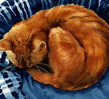 Cat Nap by Stephanie Jayne Whitcomb
