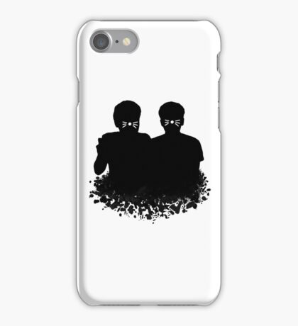 Dan & Phil | Whiskers on a cloud iPhone Case/Skin
