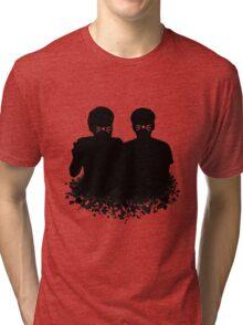 Dan & Phil | Whiskers on a cloud Tri-blend T-Shirt