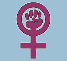 Women's Power / Feminist Symbol 2 Kids Tee