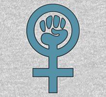 Women's Power / Feminist Symbol One Piece - Short Sleeve