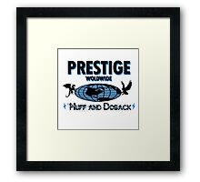 Prestige Worldwide- step brothers Framed Print