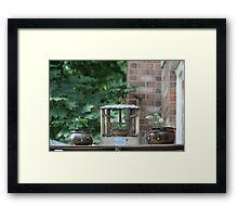 Herb Garden Framed Print