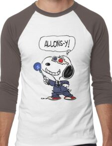 Snoopy Doctor Who Men's Baseball ¾ T-Shirt