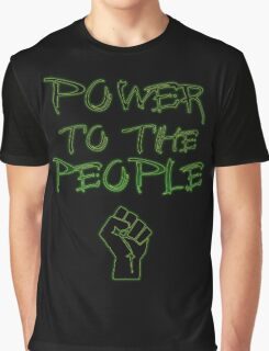Power to the People! Graphic T-Shirt