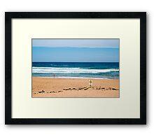 Bilgola Beach Sydney Australia Framed Print