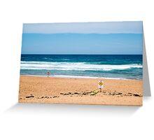 Bilgola Beach Sydney Australia Greeting Card
