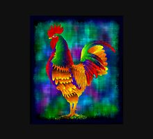 Colourful Rooster 1 Womens Fitted T-Shirt