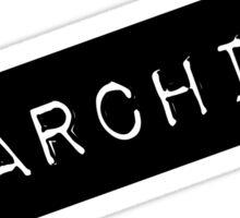 Anarchist Label Sticker