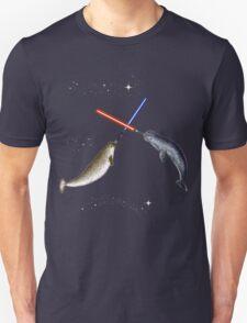Jedi Narwhal  Unisex T-Shirt
