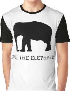 Save the Elephants Graphic T-Shirt