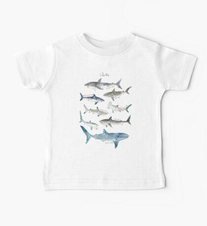 Sharks Baby Tee