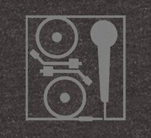2 turntables and a microphone Unisex T-Shirt