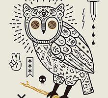 Hypno Owl by LordofMasks