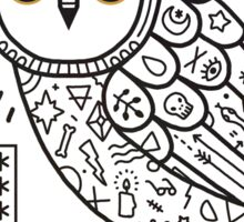 Hypno Owl Sticker