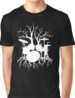"""""""Live the Beat to the Tempo of Creation"""" ~ drum art , version1 Graphic T-Shirt"""