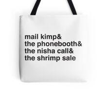 Serial Podcast. Tote Bag