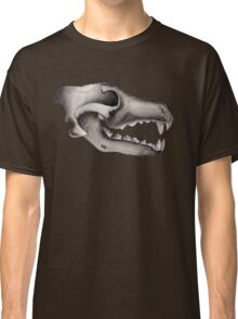Direwolf Skull - Winter Is Coming Classic T-Shirt