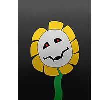 Suffer: Flowey The Flower Media Cases, Artwork, and More. Photographic Print